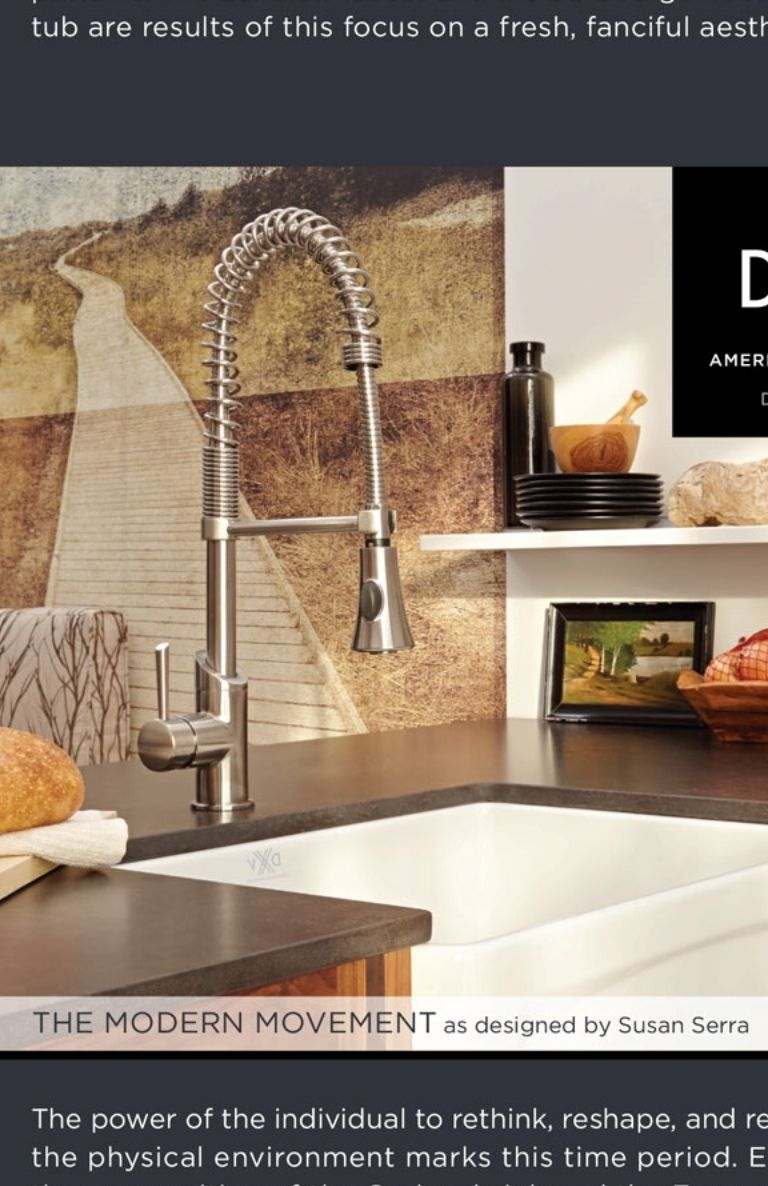 Dwell September 2014 from Dwell #stream American Standard faucet