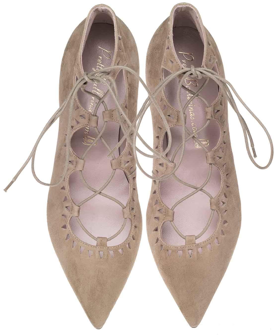 Jolies Ballerines Chaussures À Lacets c5PZoPYJ