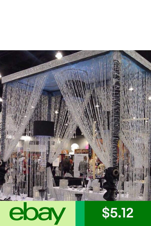 String Curtain Fringe Panel Decoration Room Divider 20: Crystal Curtains, Diy Curtains