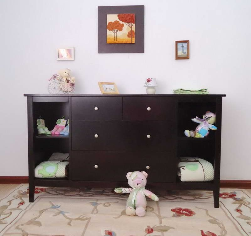 High Quality Low VOC Wood Furniture With Cabinet Www.DECORSTATE.COM