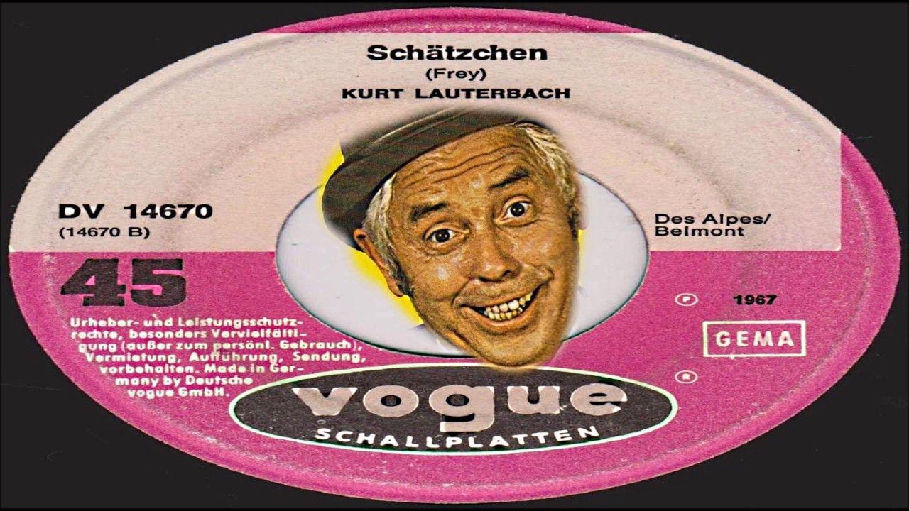 KURT LAUTERBACH – SCHÄTZCHEN (1967) Vogue Schallplatten…