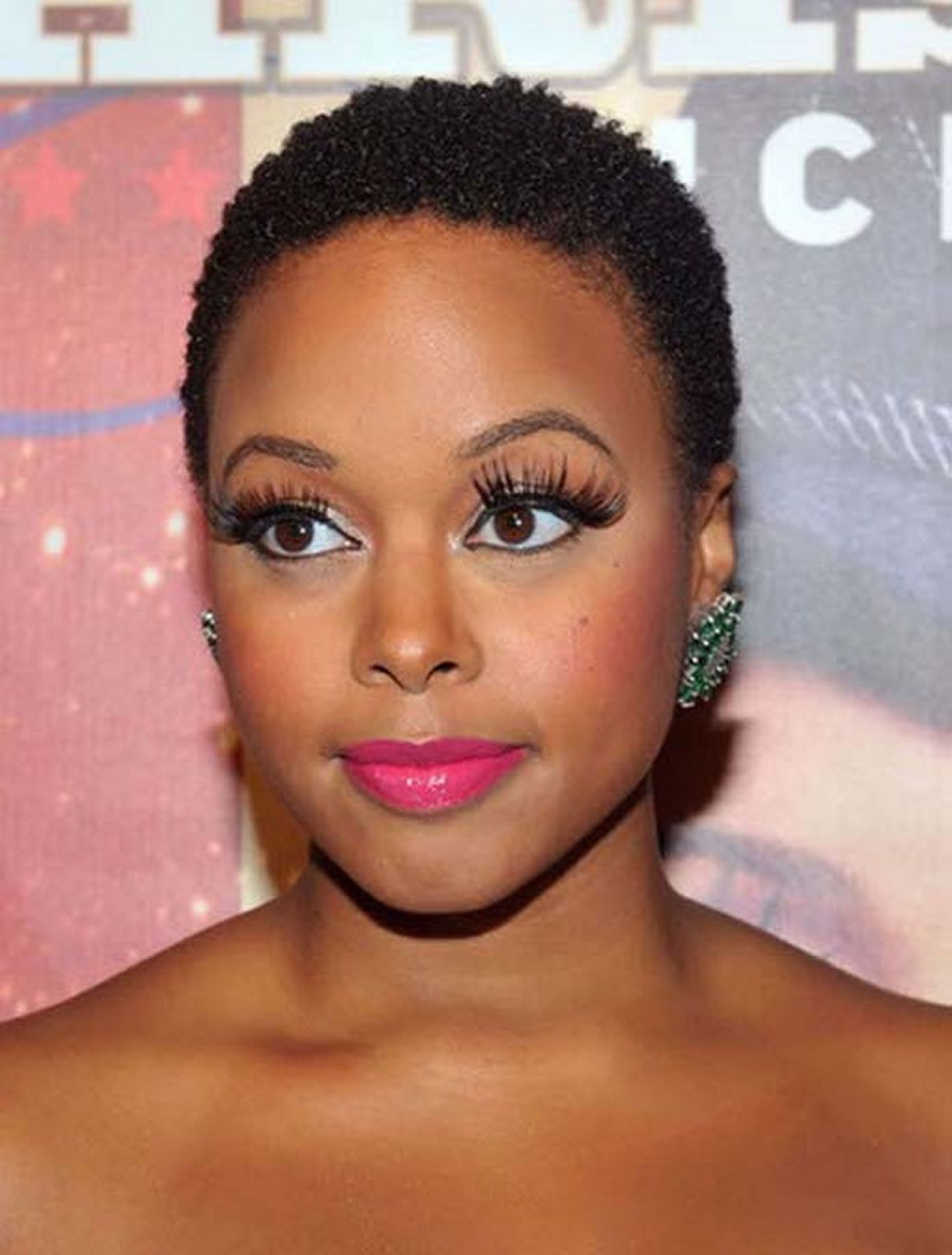 Short african american hairstyles for round faces hair