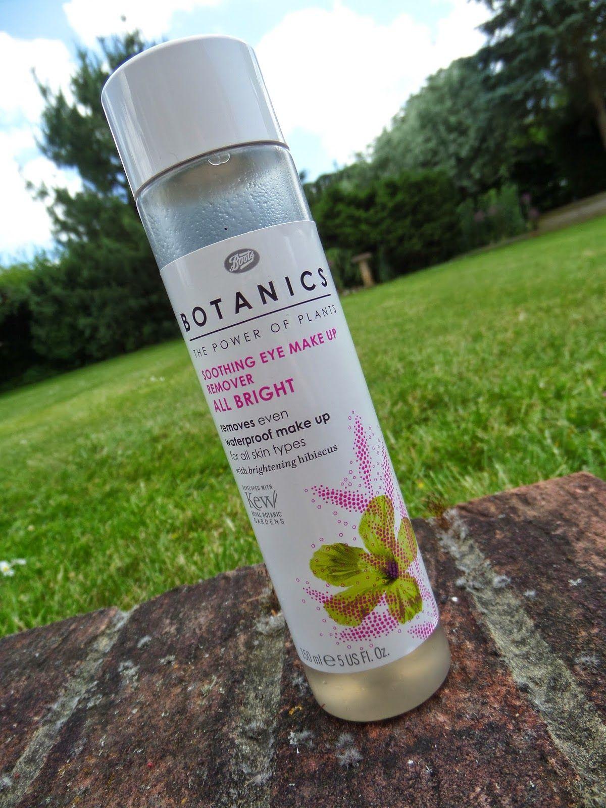 Emmaamazingemma Review Boots Botanics Soothing Eye Make