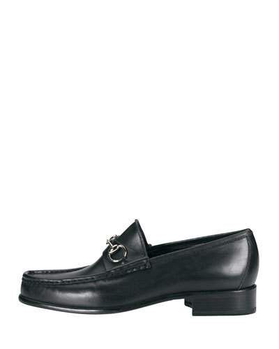 015a1c26323 GUCCI Classic Leather Horsebit Loafer