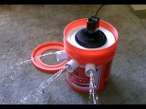Homemade Air Conditioner Diy Awesome Air Cooler Easy Instructions Can Be Solar Power Homemade Air Conditioner Diy Air Conditioner Bucket Air Conditioner