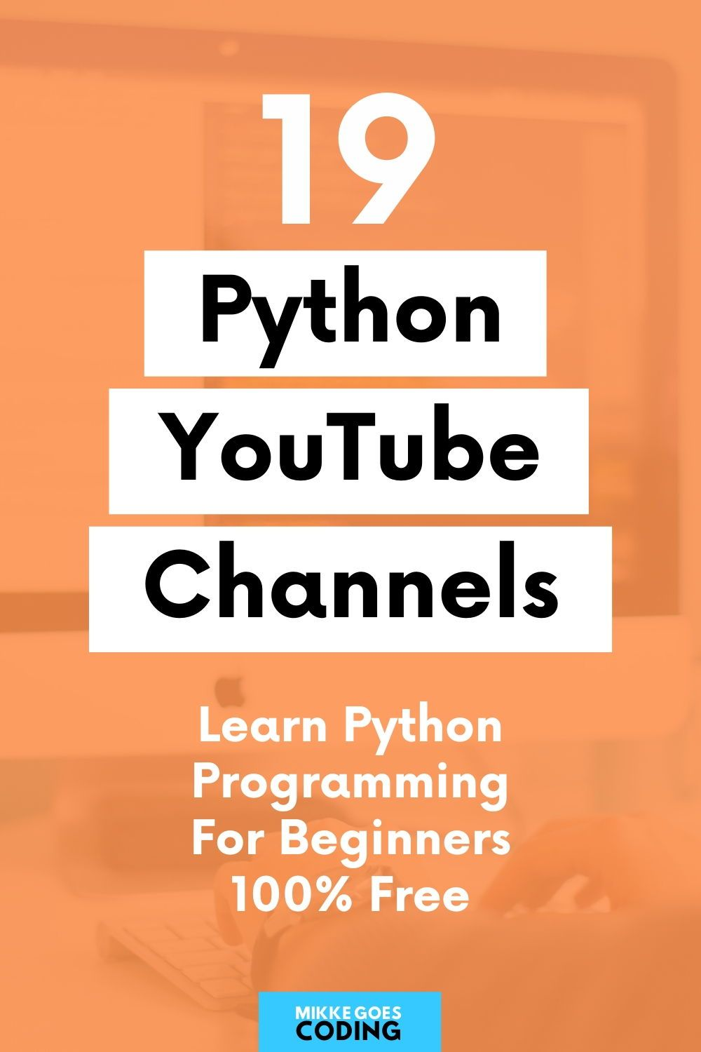 19 Best Youtube Channels To Learn Python For Beginners In 2020 Python Programming Machine Learning Deep Learning Machine Learning Projects