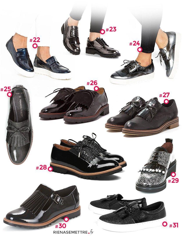 abf2442bc33 Chaussures à Franges   Nos 30 modèles Coups de Coeur pour Femme