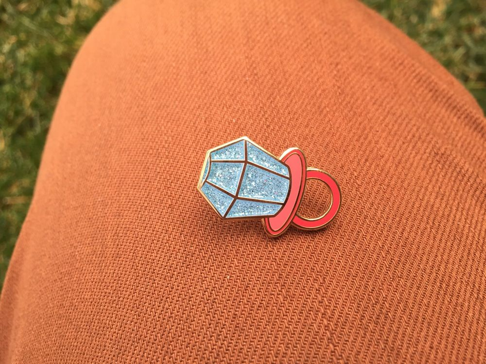 ring pop pin Pin and patches, Ring pop, Sticker patches