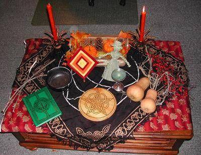 Altars:  Mabon #Altar.