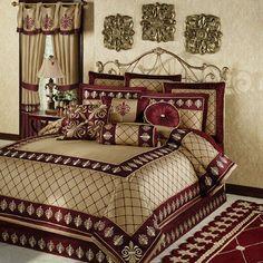 Roman Empire Fleur De Lis Comforter Bedding Master