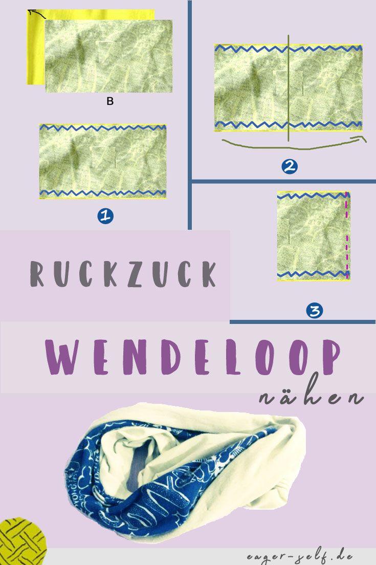 Photo of Ruckzuck Wendeloop nähen