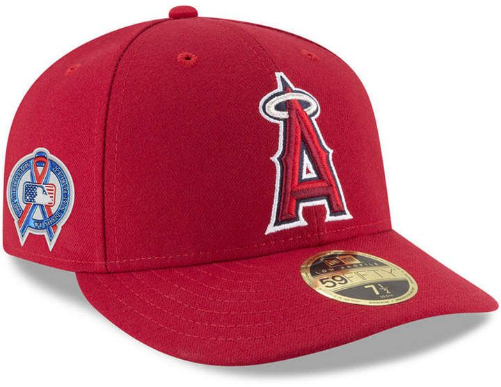 e027807b83c1ba New Era Los Angeles Angels 9-11 Memorial Low Profile 59FIFTY Fitted Cap
