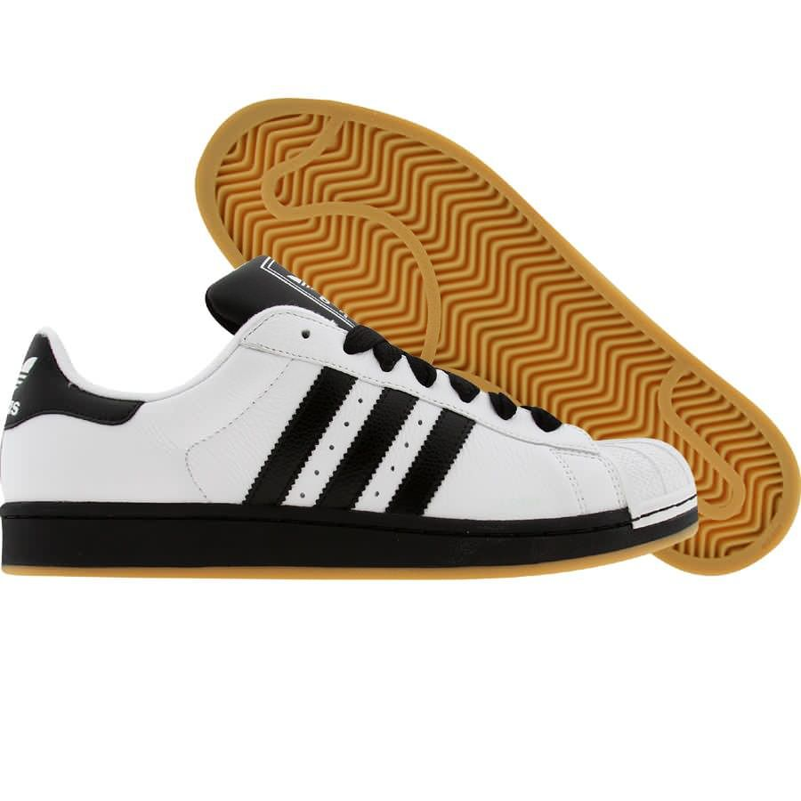 adidas superstar ii white black1 gum1 031164 69. Black Bedroom Furniture Sets. Home Design Ideas
