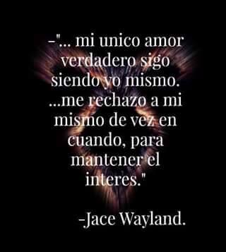 Mi Unico Verdadero Amor Soy Yo Books Pinterest Malec Shadow