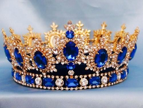 Circle Gold Crown Colorful Dimond,Crown Bridal,Prom Crown,Crown Queen,Baroque Crown,Masquerade,Crown Gifts for Women.