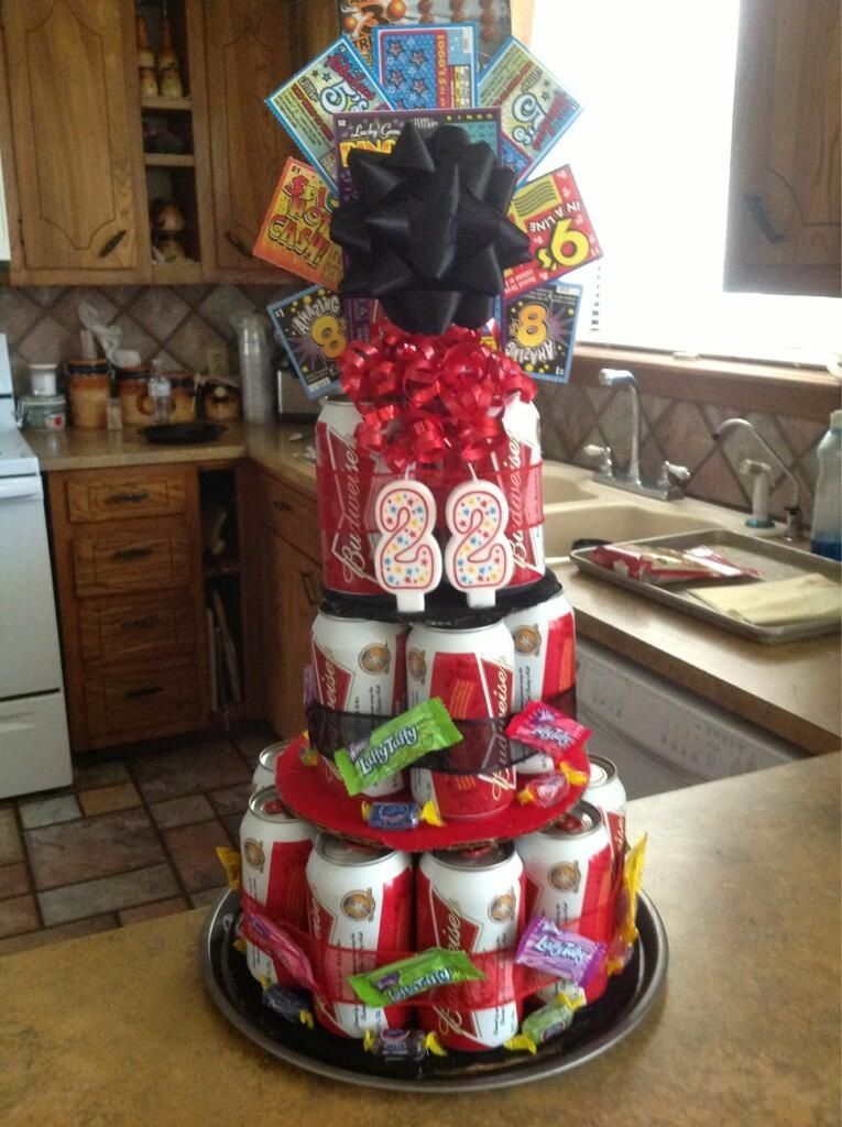 Beer Can Cake :)