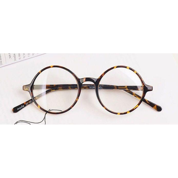 52c6b284d4cd Nerd Brille filigran rund Glasses Klarglas Hornbrille treber 019 ...