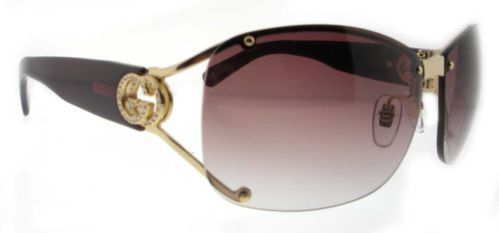 d3b1e3c58fb Gucci GG 2820 F S J5G Shiny Gold Gg2820 Sunglasses
