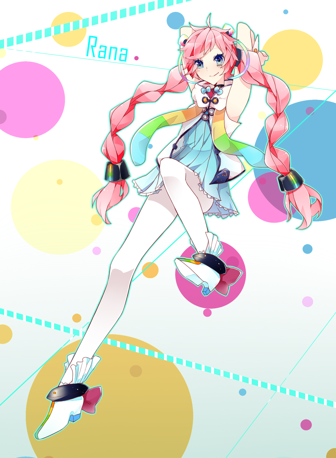 Rana Vocaloid Render