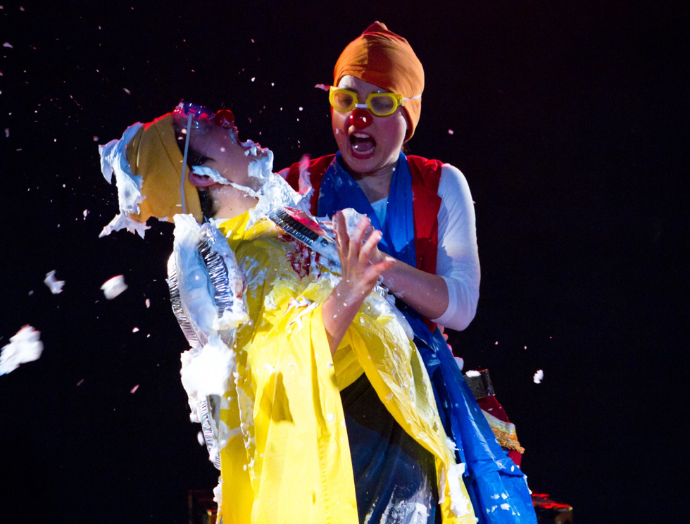 'The Antidote' coming to the 2012 Edmonton Fringe Festival. Get your tickets to this epic Clown Showdown today!