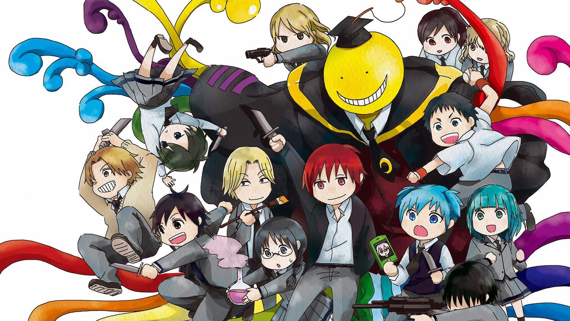 Ansatsu kyoushitsu wallpaper no2 anime tapety klasa
