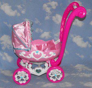 Disney Princess Baby Doll Stroller Pram #teamsellit | Toy Land ...