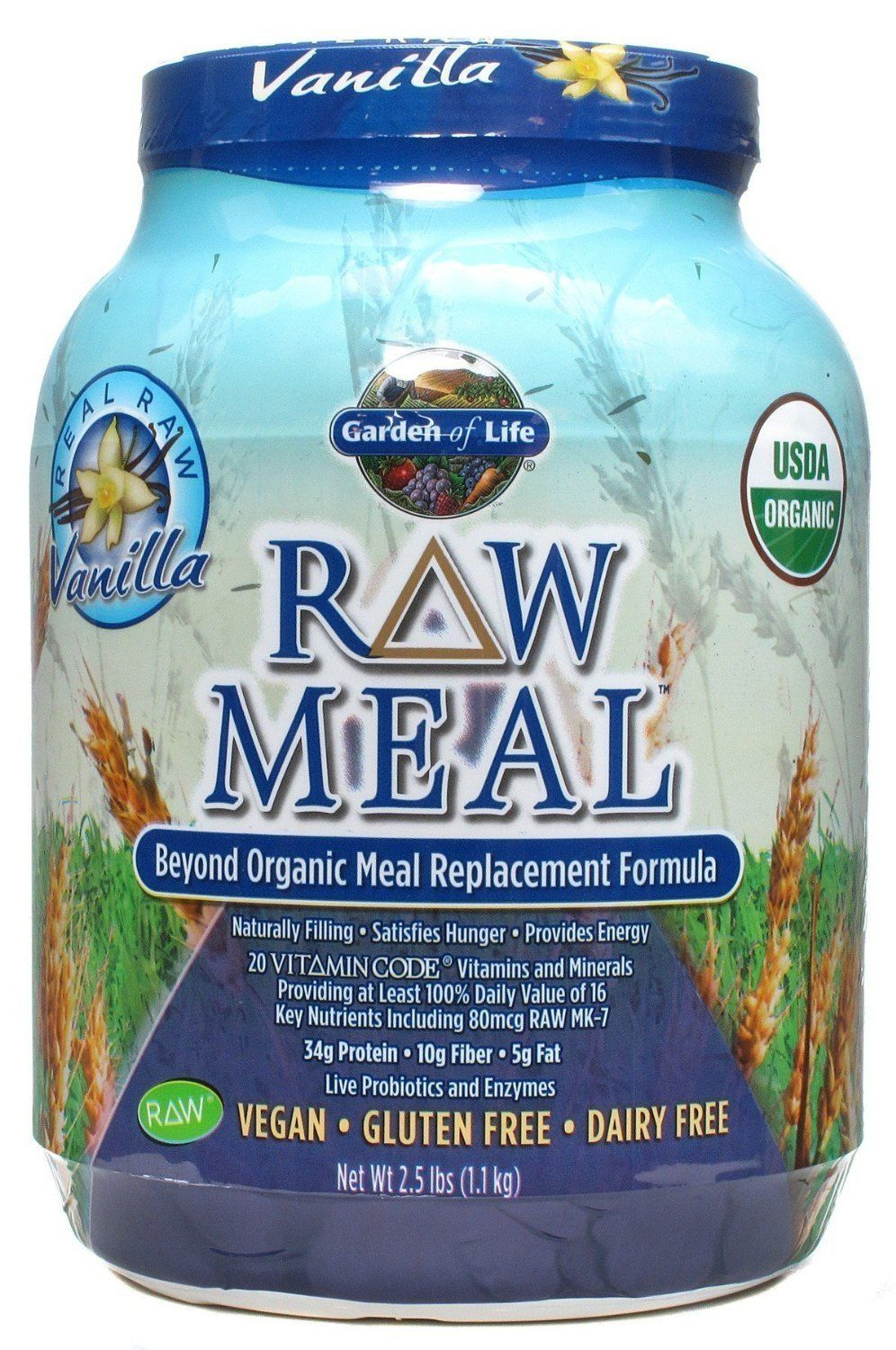 Garden of Life RAW Meal Beyond Organic Meal Replacement