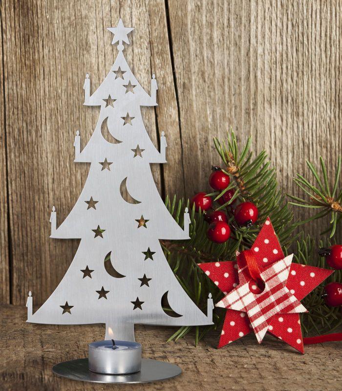 Teelichtbaum Gross Weihnachtsdekoration Tischdeko Weihnachten