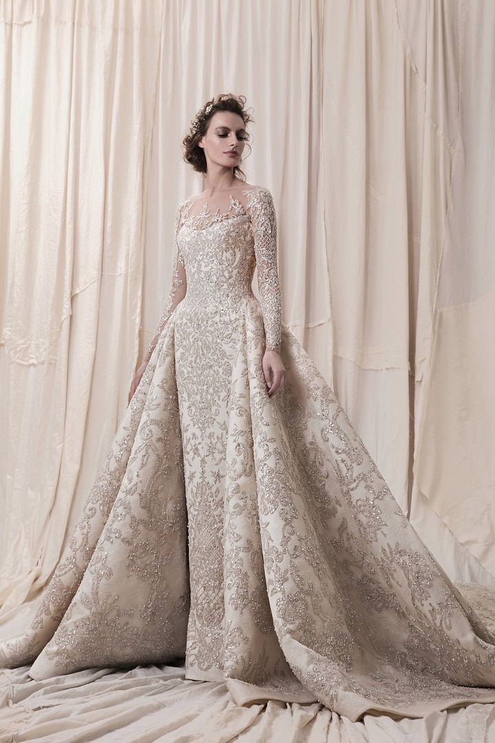 9bbbbcc3e0d71 Krikor Jabotian 2018 bridal collection – sophisticated wedding dresses with  impeccable detailing