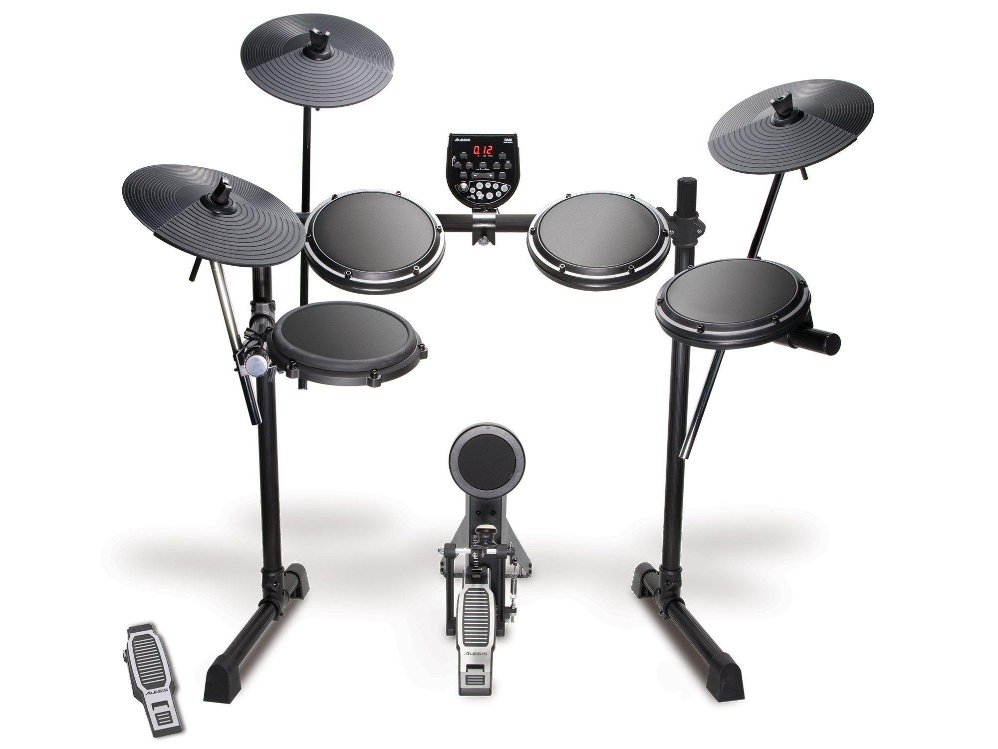 Alesis Dm6 Usb Kit Five Piece Electronic Drum Set Electric Drum