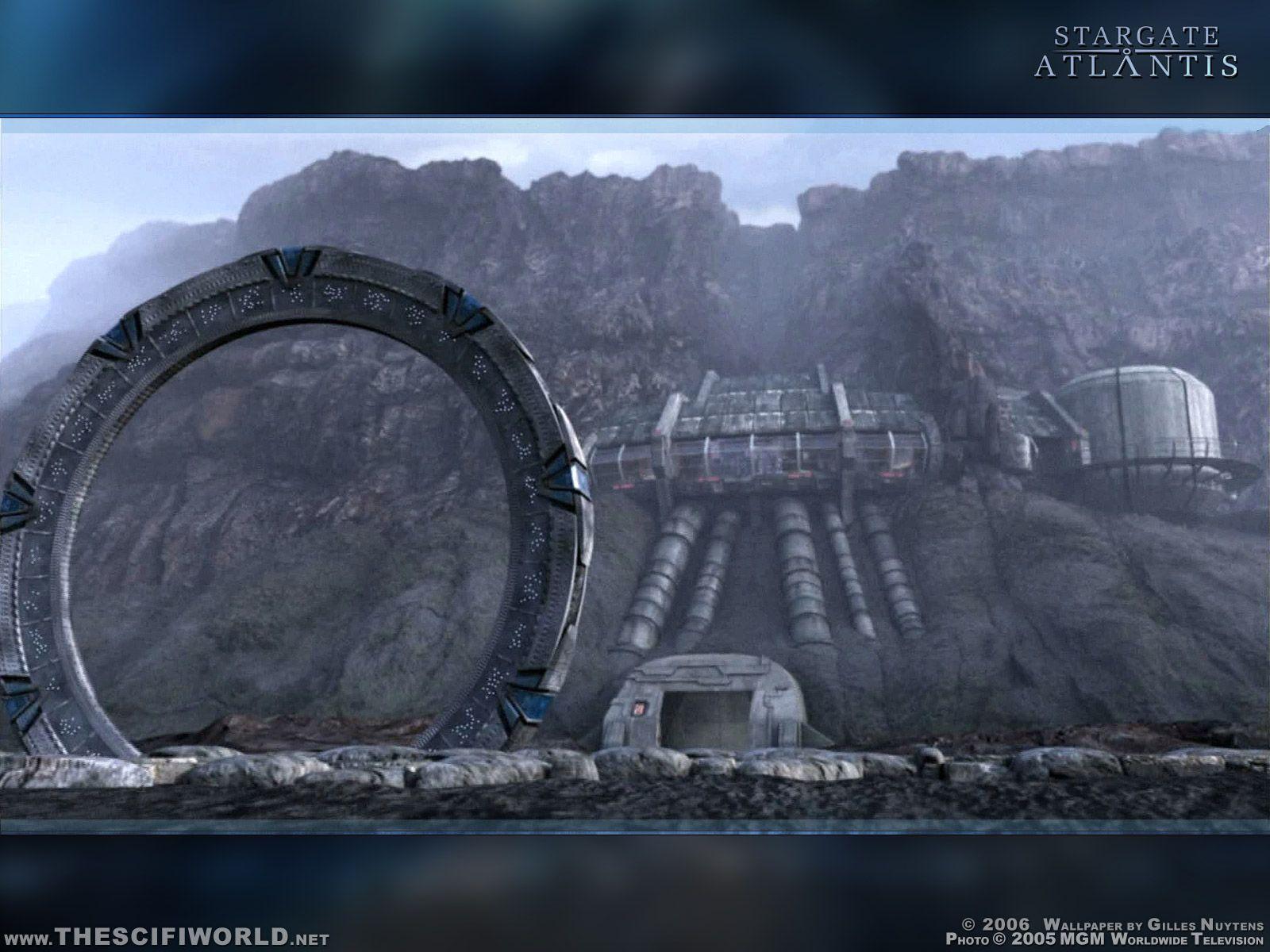 Hd Stargate Wallpaper A Través Del Universo Universo Y