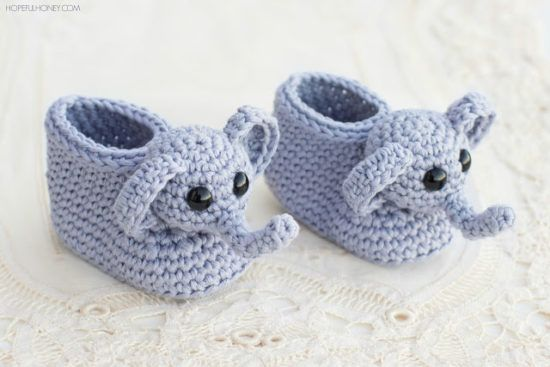 Crochet Animal Slippers Free Patterns