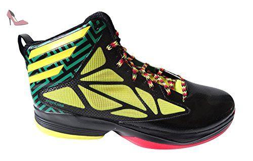 Adidas Mens fou de basket ball rapide Chaussures Noir