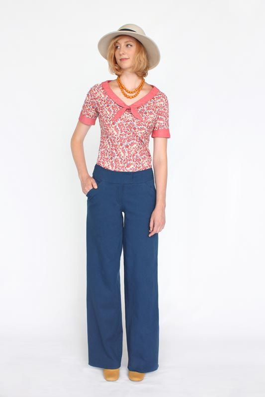Juniper Trouser Sewing Pattern | Sewing Patterns and Tutorials ...