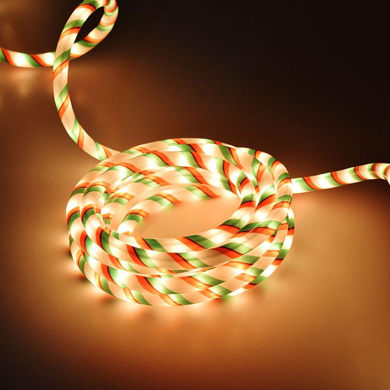 Christmas rope light red green white 18 feet bs 37169 christmas rope light red green white 18 feet bs 37169 aloadofball Image collections