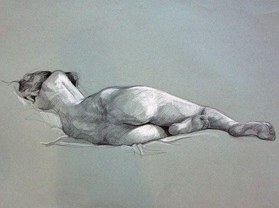 Des séances sont proposées à l'Atelier Boubok pour dessiner et peindre d'après plusieurs modèles vivants, sans professeur dans le cadre d'un petit atelier.