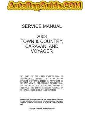 download free chrysler dodge town country caravan voyager rh pinterest com 2003 chrysler town and country service manual pdf 2003 town and country service manual pdf