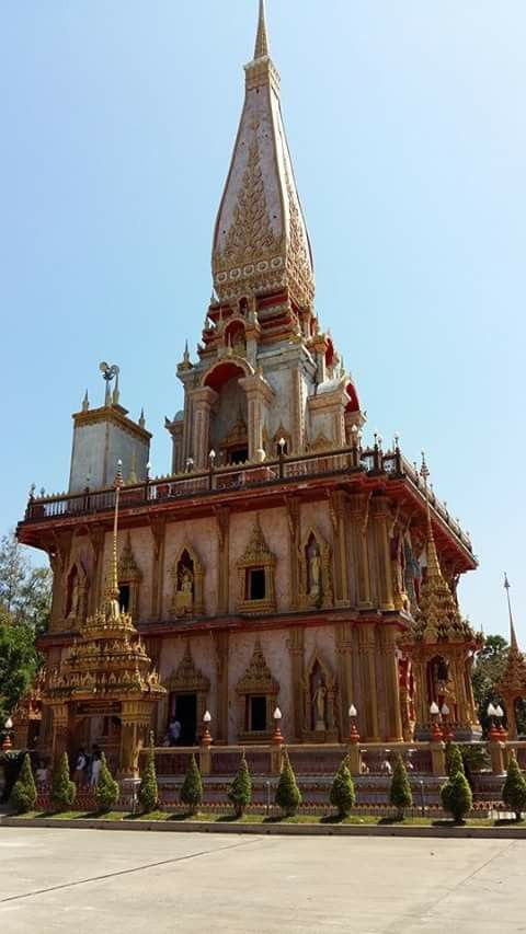 Chalong temple, Phuket Thailand.