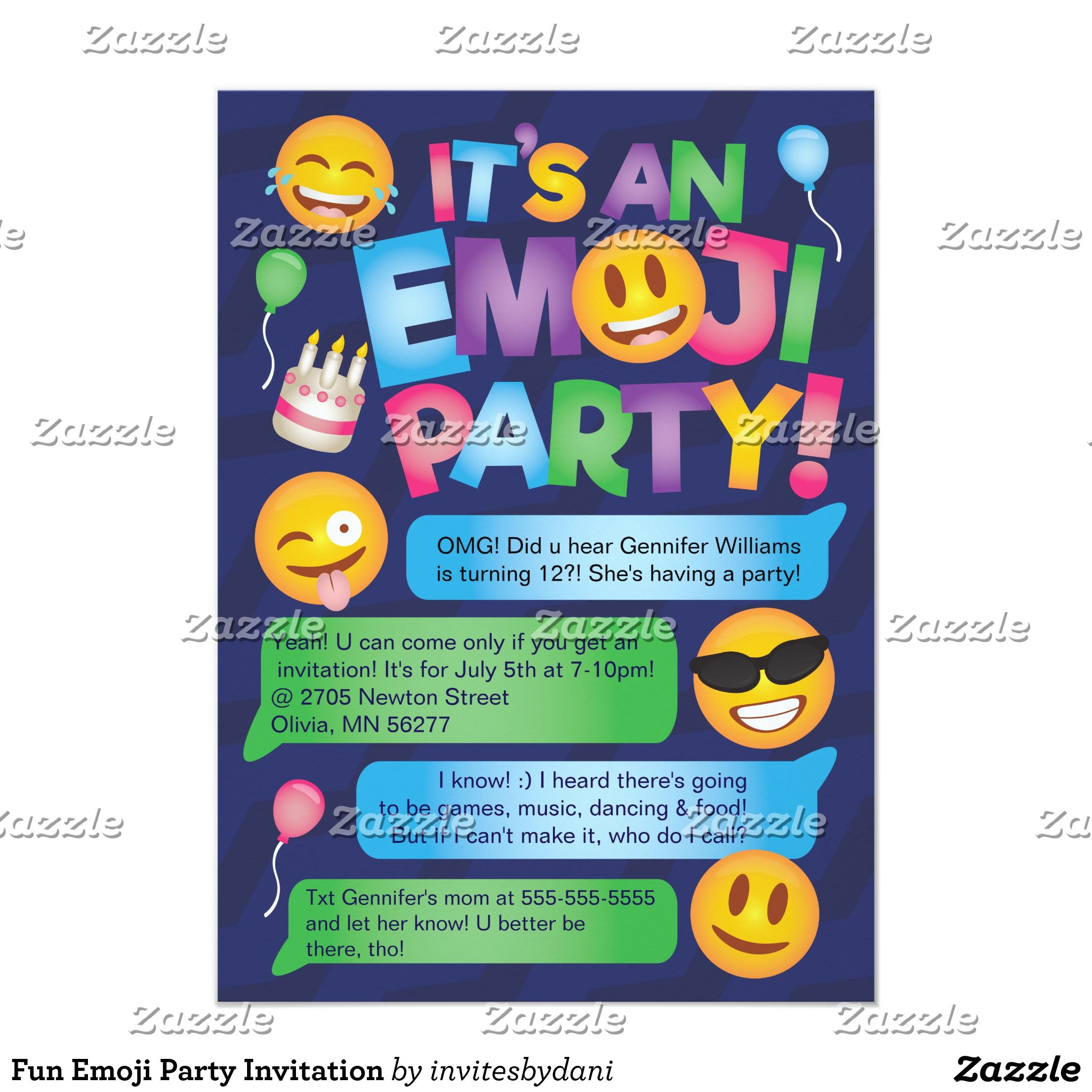 Create Your Own Invitation