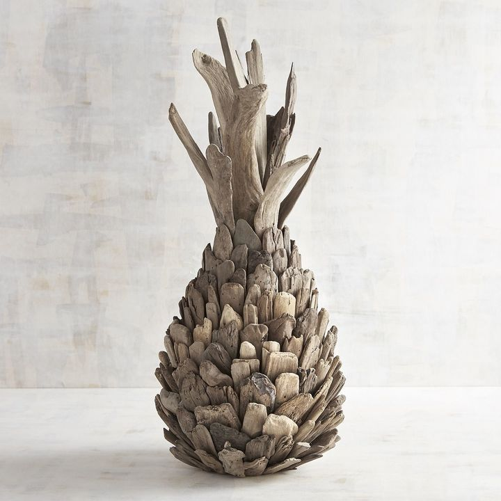 Pier 1 Imports Driftwood Pineapple | Driftwood table ...