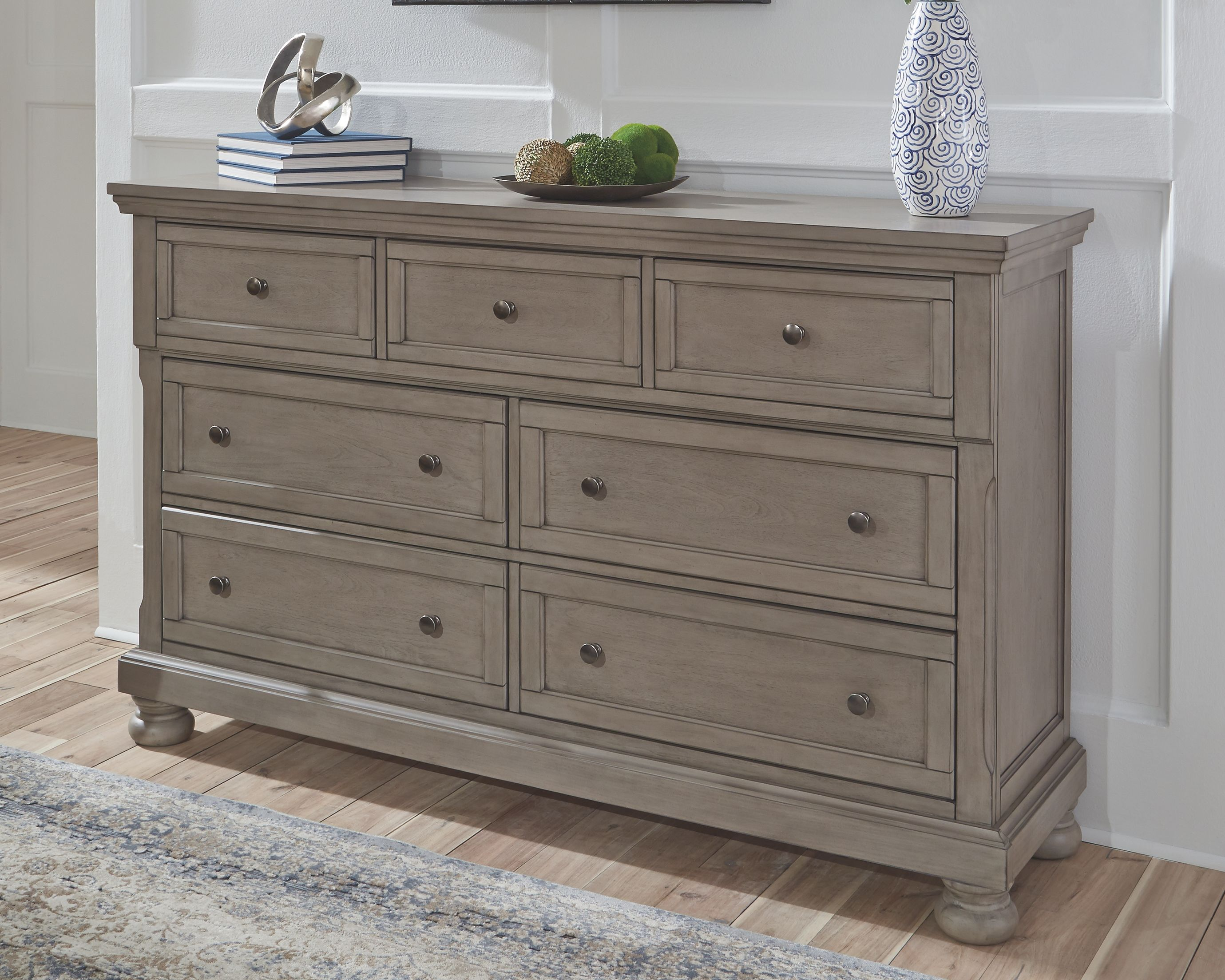 Lettner Dresser Light Gray Rustic Bedroom Design Furniture