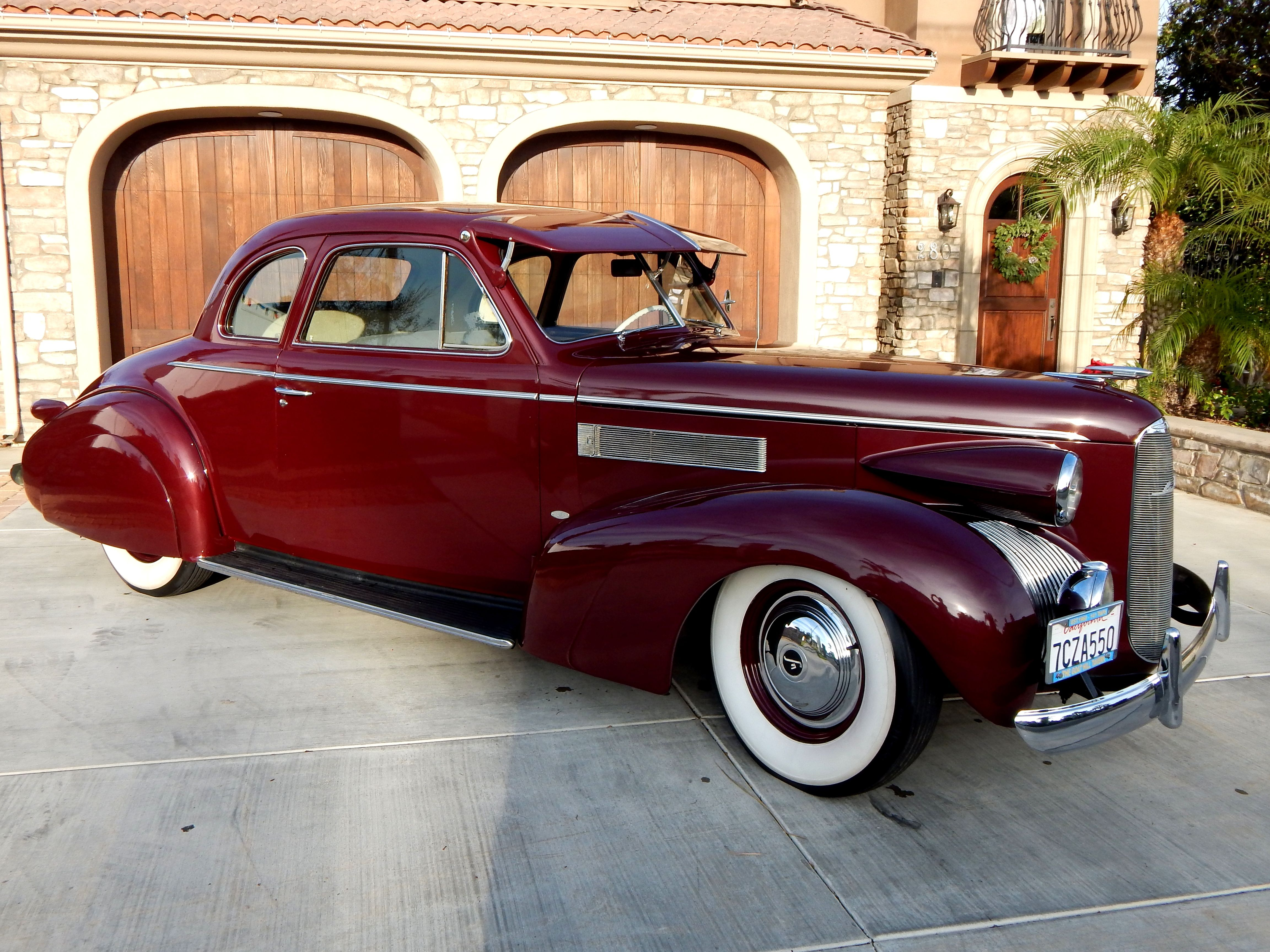 1939 LaSALLE / Cadillac 5 Window Coupe. California car with the ...