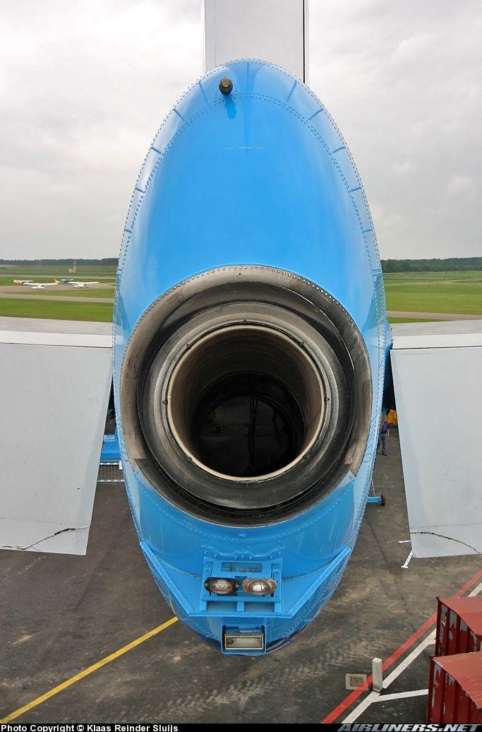 Sexy 747 APU exhaust | Boeing/Douglas/McDonnell Douglas