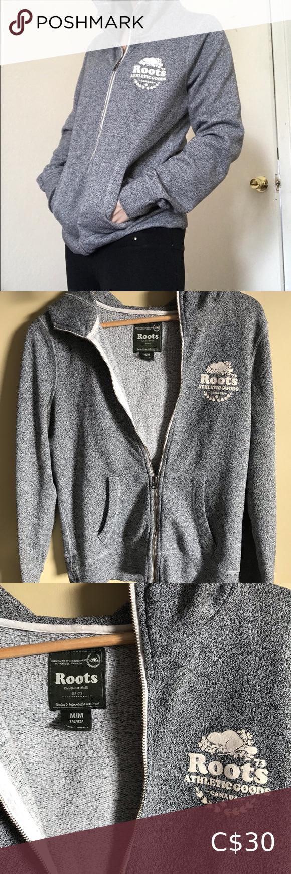 ROOTS hoodie in 2020 Hoodies, Fashion, Grey hoodie