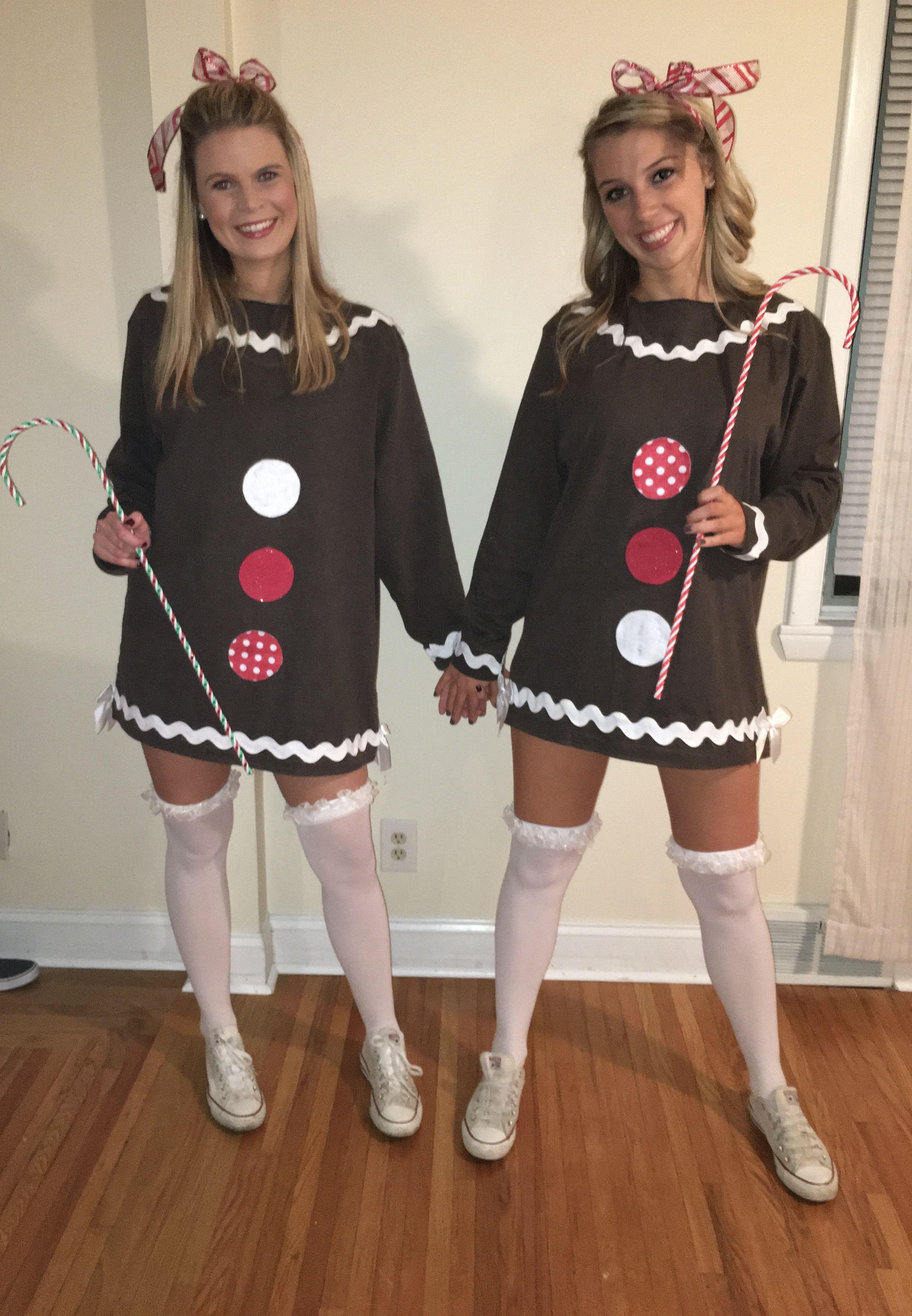 Halloween costume gingerbread men Halloween college