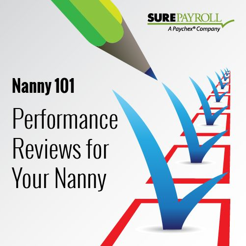 Reviews arenu0027t just for the office Hereu0027s your guide to the nanny - performance reviews