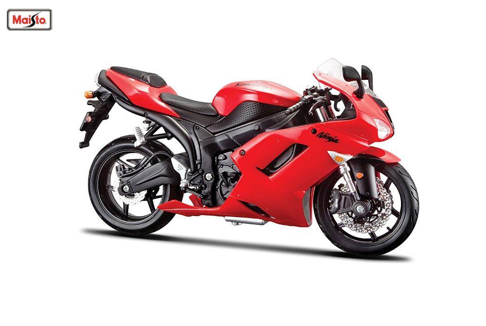 Maisto 1 12 31155 Kawasaki Ninja Zx 6r Motorcycle Bike Model Free