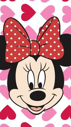 Minnie Mouse Pink Face