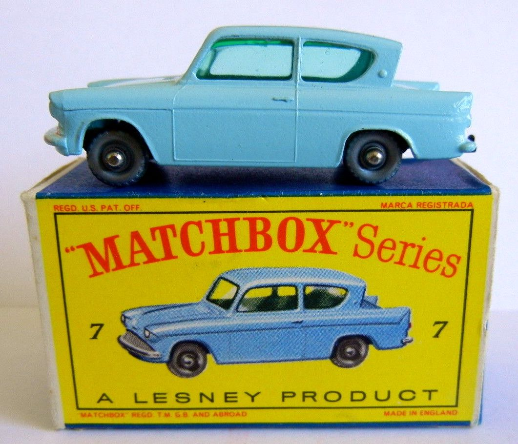 Matchbox Anglia Matchbox Matchbox Cars Toy Car