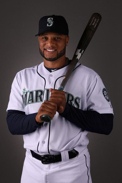 Robinson Cano #22 of the Seattle Mariners poses for a portrait during photo day at Peoria Stadium on February 21, 2018 in Peoria, Arizona. - 37 of 156